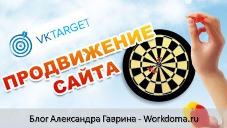 Как продвинуть сайт через Vktarget. Продвижение сайта через соц. сети