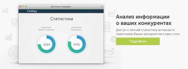 feedspy - анализ информации о ваших конкурентах