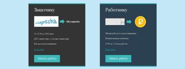 rucaptcha.com зарабатывать на вводе капчи