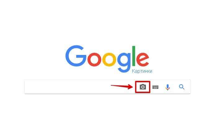 поиск в Google по фото
