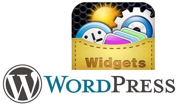 что такое WordPress виджеты