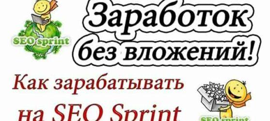 SEOsprint — Как Заработать на СеоCпринт от 500 рублей в День Инструкция Рекомендации