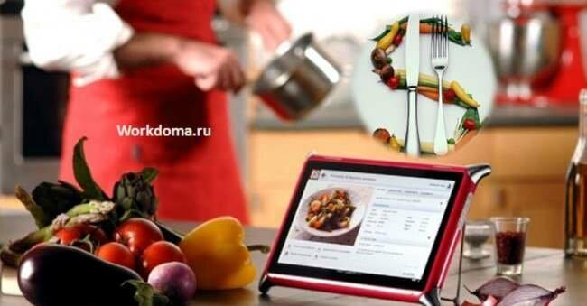 возможность зарабатывать на кулинарных рецептах