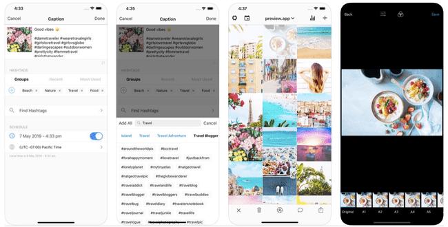 приложение для создания ленты Инстаграм